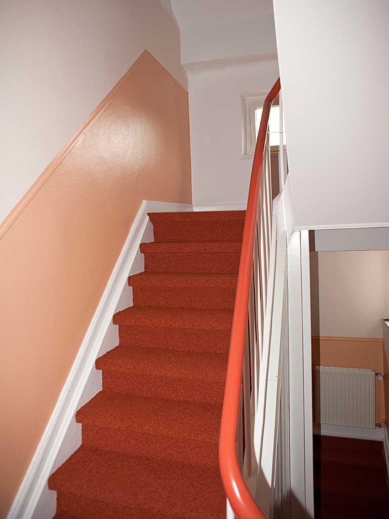 Farbgestaltung treppenhaus mehrfamilienhaus  farbe | Malermeister Busenbecker